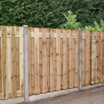 17 planks hout beton zonder afdeklat