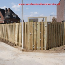 belgie geimpregneerde palen9x9